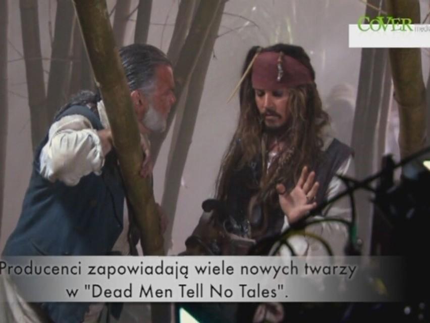 """Kolejna część """"Piratów z Karaibów"""". Kto w niej zagra? [wideo]"""