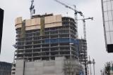 Katowice. Tragedia na budowie Global Office Park: zginął 32-letni Mołdawianin. Zabił go spadający element konstrukcji