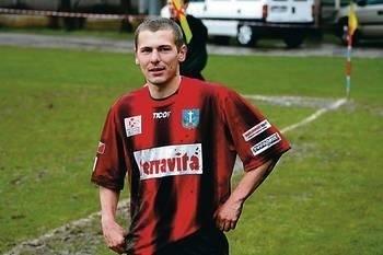 Napastnik KS Zakopane Andrzej Król zdobył dwie bramki w ostatnim zwycięskim meczu z Kobylanką Fot. Zdzisław Karaś