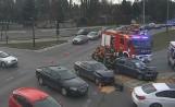 Groźny wypadek na ul. Wojska Polskiego. Ranny kierowca opla