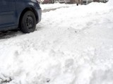 Grudziądz. Sypnęło śniegiem. I nakazami jego posprzątania