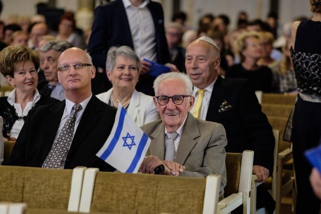 W auli UAM świętowano 70-lecie istnienia państwa Izrael