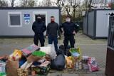 Policjanci z Siemianowic Śląskich wspierają zwierzaki ze schroniska dla bezdomnych zwierząt w Chorzowie