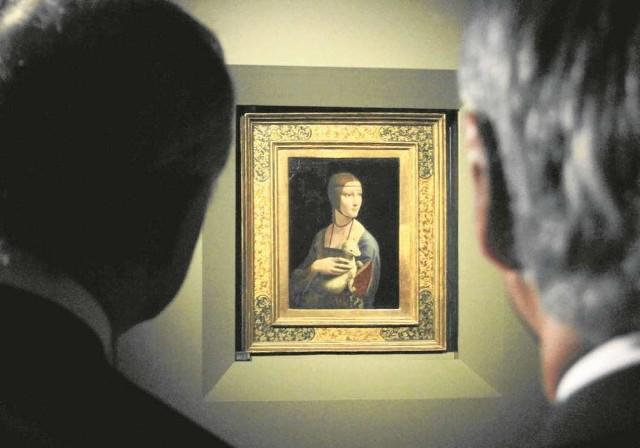 """""""Dama z gronostajem"""" Leonarda da Vinci to najcenniejszy obiekt w polskich zbiorach"""