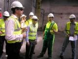 W Cementowni Kujawy, pojawił się wczoraj Bruno Lafont, prezes koncernu Lafarge
