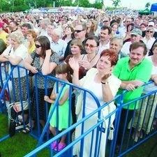 Publiczność bawiła się znakomicie - i na koncertach, i na mistrzostwach w piciu mleka na czas