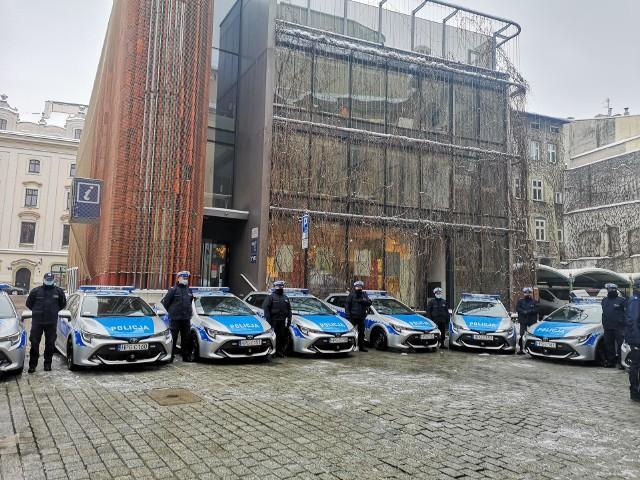 Takimi samochodami będą jeździć krakowscy mundurowi