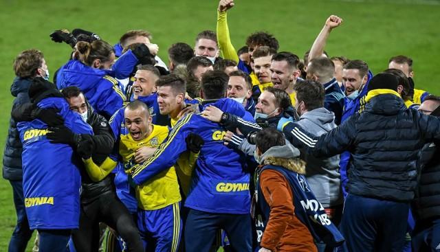 Fortuna Puchar Polski. Arka Gdynia - Piast Gliwice 0:0 pd. k. 4:3