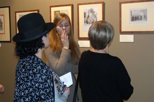 Wystawa spodoba się amatorom sztuki wojennej, jest na niej dużo materiałów nt. umundurowania.