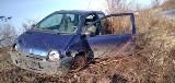 Przestępca na początku uciekał samochodem w Szprotawie, najechał na policjanta, a później wskoczył do rzeki