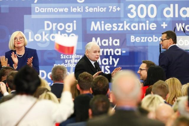 We wrześniu 2018 r. prezes PiS Jarosław Kaczyński przemawiał w sali ŁSSE. Teraz przed działaczami wystąpi w Andel's Hotel.