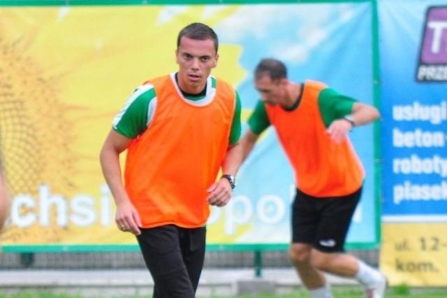 Krzysztof Szpond pojawił się na treningu Siarki.
