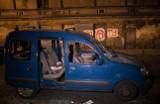Specjalna grupa policjantów szuka sprawców bandyckiego napadu na ul. Smugowej