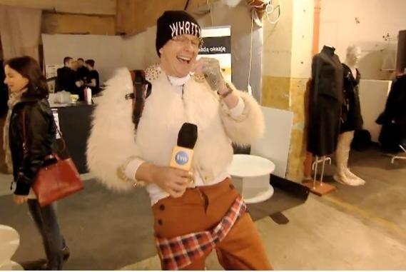 Filip Chajzer jako ofiara mody.