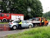 Karambol w Jastrzębiu-Zdroju, bo 46-latek się zagapił. Zderzyły się trzy samochody