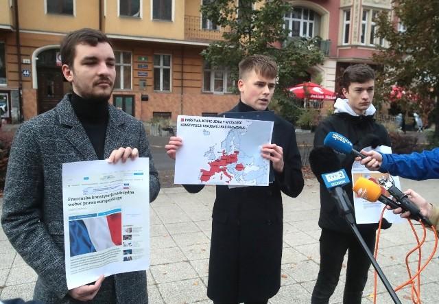 Konferencja Forum Młodych PiS w Szczecinie