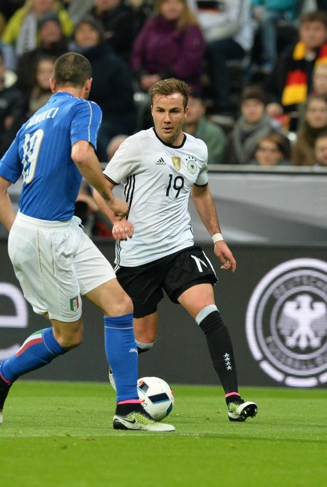 Mario Götze w towarzyskim meczu z Włochami pokazał, że nie zapomniał, jak się gra na wysokim poziomie