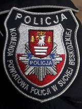 Powiat suski: Policjant bohater uratował niedoszłego samobójcę