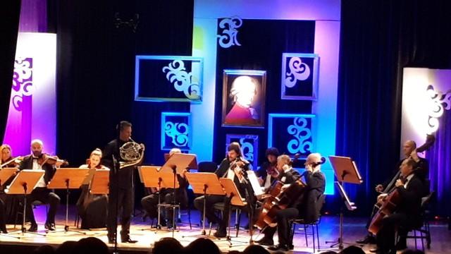 Wykonawcami koncertu byli Igor Szeligowski – waltornia i Radomska Orkiestra Kameralna. W programie królowała muzyka Mozarta.