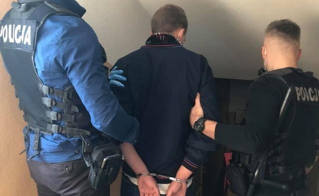 30-latek zatrzymany przez kryminalnych ze Słupska