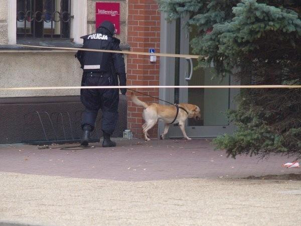 Szczeciński Pododdział Antyterrorystyczny Policji dotarł na miejsce po godzinie 15. Funkcjonariusze mieli sprawdzić, czy w puszce nie znajduje się jakaś substancja trująca. Nic takiego nie znaleźli.