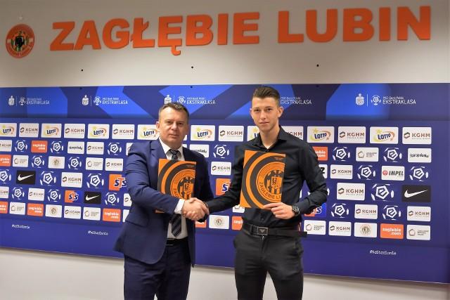 Zagłębie Lubin ma nowego piłkarza. To Mateusz Bartolewski