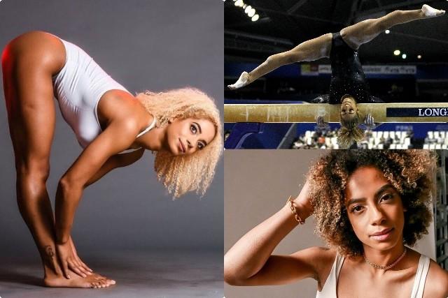 """Danusia Francis w 1994 r. urodziła się w Wielkiej Brytanii. Jej matką jest Polka, a ojcem Jamajczyk. Gdy miała pięć lat, zaczęła uprawiać gimnastykę. Jak sama opowiadała w wywiadach, jednym z trzech czynników, dlaczego wybrała tę dyscyplinę, była jej mama Wanda. Dwa pozostałe powody, to chęć bycia jak czterokrotna medalistka olimpijska w gimnastyce Rosjanka Jelena Zamołodczikowa oraz Usain Bolt. To zresztą z powodu multimedalisty z Jamajki postanowiła reprezentować kraj swojego ojca. Niestety, na igrzyskach w Tokio odpadła już w eliminacjach (ćwiczenia na poręczach asymetrycznych). Umiejętności przydają jej się także na innych polach. Danusia ma za sobą występy kaskaderskie w filmach! Grała m.in. amazonkę w """"Wondar Woman 1984"""" oraz u boku George'a Clooneya w filmie """"Niebo o północy"""". Zobacz polsko-jamajską piękność!Uruchom i przeglądaj galerię klikając ikonę """"NASTĘPNE >"""", strzałką w prawo na klawiaturze lub gestem na ekranie smartfonu"""
