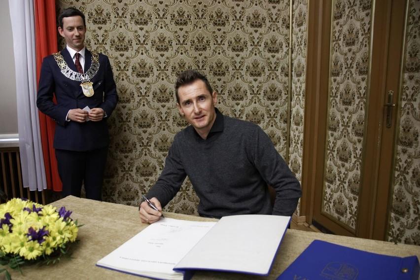 Miroslav Klose - honorowy obywatel Opola