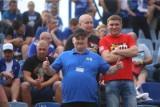 Ruch Chorzów - LKS Goczałkowice-Zdrój ZDJĘCIA KIBICÓW Niebiescy przegrali, ale fani dopingowali do samego końca