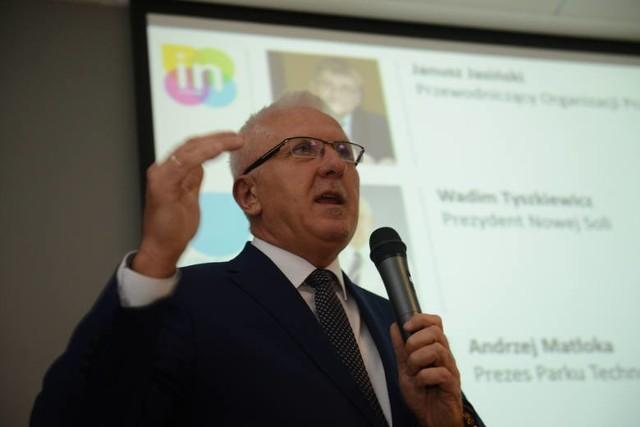 Senator Wadim Tyszkiewicz, były prezydent Nowej Soli