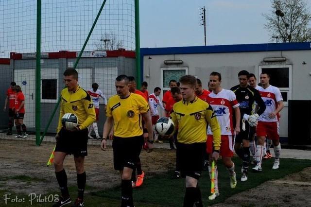 Łódzki Klub Sportowy nie dal rywalom z Brzezin najmniejszych szans.