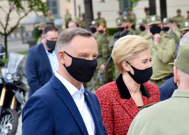 Wizyta pary prezydenckiej w Nowym Sączu