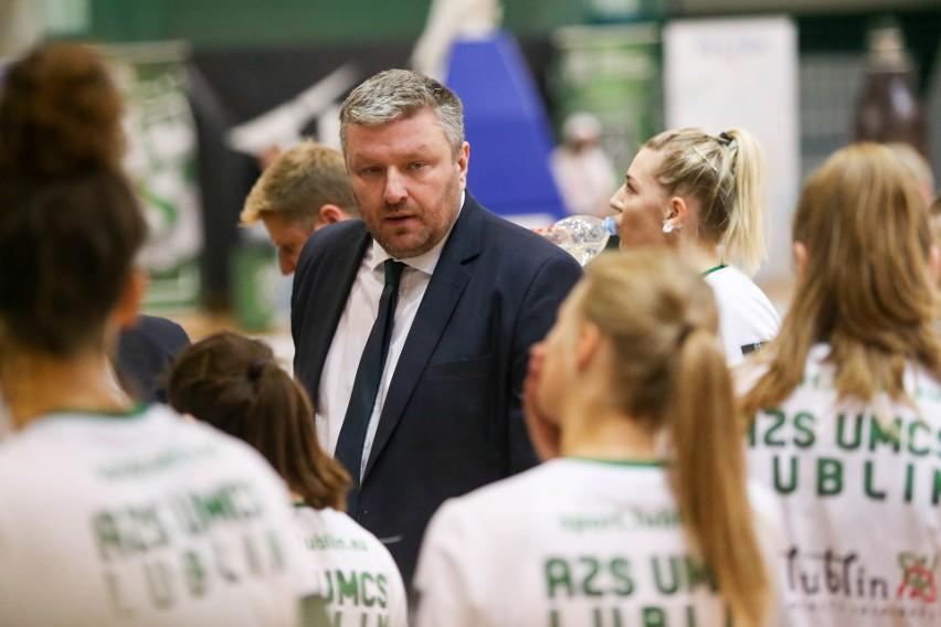 Pszczółka Polski-Cukier AZS UMCS Lublin wygrała z DGT AZS Politechnika Gdańska 83:73. Zobacz zdjęcia