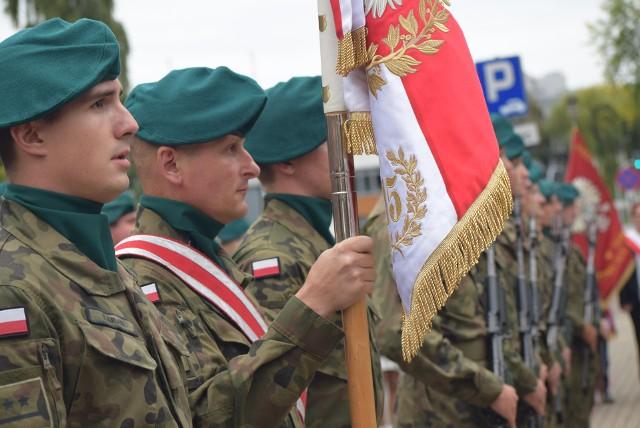 Patriotyczna uroczystość w Sieradzu. Dzień Sybiraka i rocznica agresji ZSRR