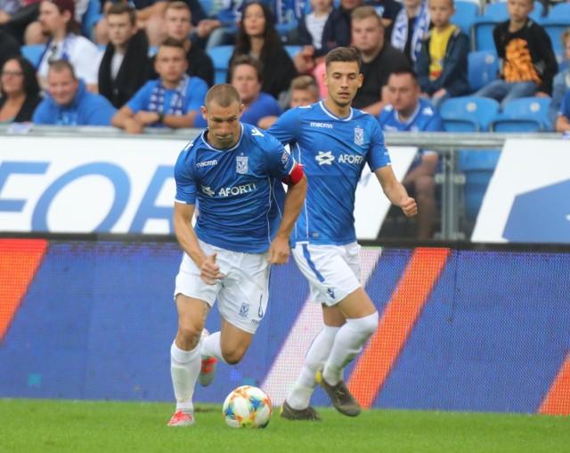 Paweł Tomczyk przesądził o wygranej rezerw Lecha na stadionie w Pruszkowie