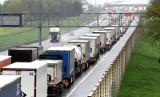4 kilometry korka na autostradzie A4 pod Wrocławiem
