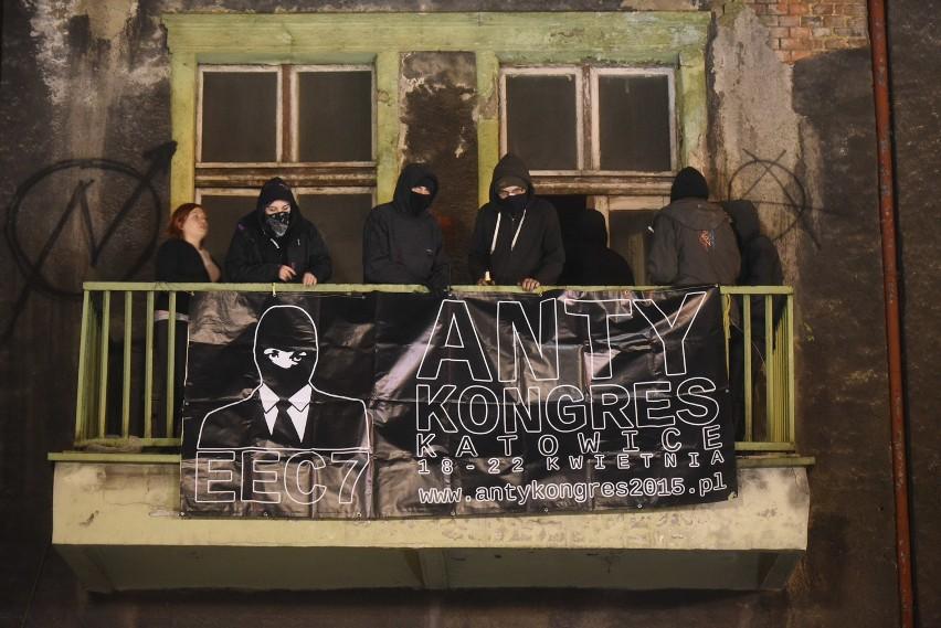 Anarchiści zajęli kamienicę przy ul. Mariackiej. To protest...