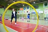Latające talerze w hali Ośrodka Sportu i Rekreacji w Miastku (ZDJĘCIA)
