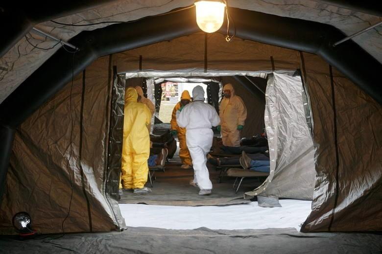 W środę w Lublinie przeprowadzono ćwiczenia służb na wypadek wystąpienia epidemii koronawirusa