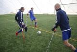 Sosnowiec: amp futboliści Kuloodpornych Bielsko-Biała trenowali w hali przy Kresowej ZDJĘCIA
