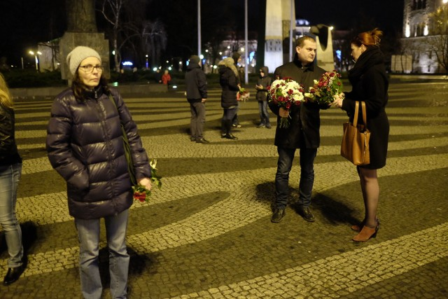 Na placu Mickiewicza na chórzystki czekali rodzice