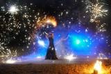 Noc Kupały 2021: Wczoraj mimo złej pogody odbyła się Noc Sobótkowa. Pokazy teatru ognia i koncert [ZDJĘCIA]