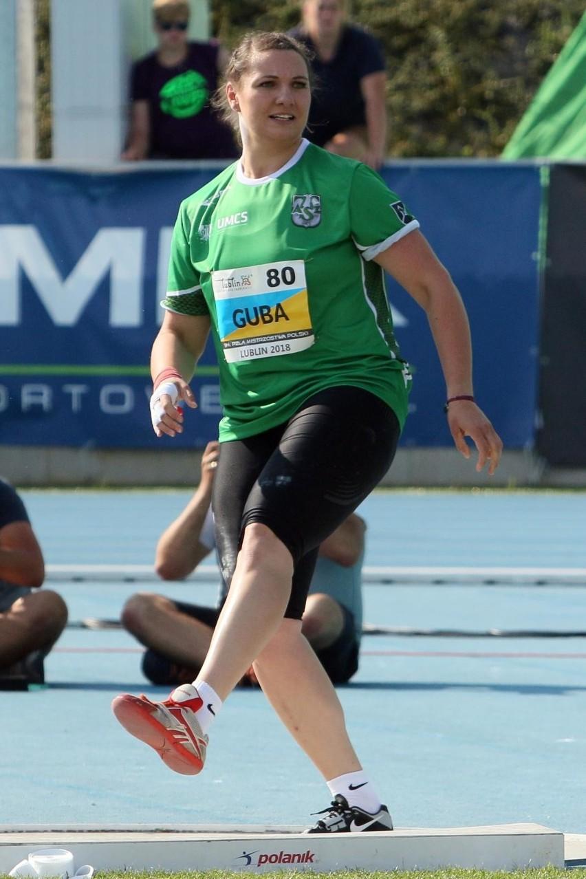 Lekkoatletyczne ME: Dzisiaj o medal powalczy kulomiotka Paulina Guba z AZS UMCS Lublin