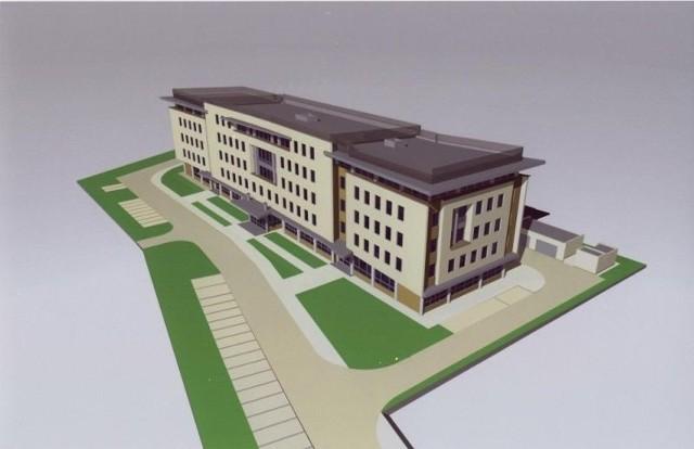 Tak w maju 2015 r. będzie wyglądał nowy gmach łódzkiego ZUS.
