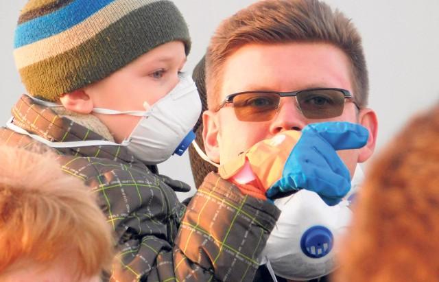 Mielczanie już raz, w listopadzie 2015 roku, wyszli protestować na ulicę przeciwko zatruwania powietrza.