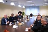 Samorządowcy pożegnali Komendanta Tomasza Weremczuka