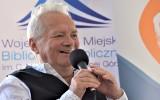 Aktorska para Małgorzata Pritulak i Zdzisław Wardejn będą czytali wiersze zielonogórskiej poetki Agnieszki Ginko