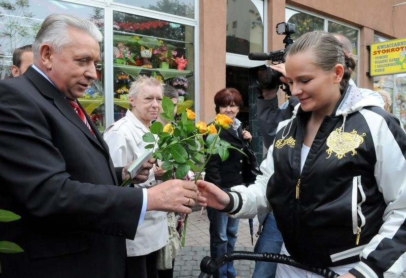 Andrzej Lepper w Gorzowie