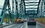 Trzy auta zderzyły się na moście Fordońskim w Bydgoszczy. Jedna osoba trafiła do szpitala