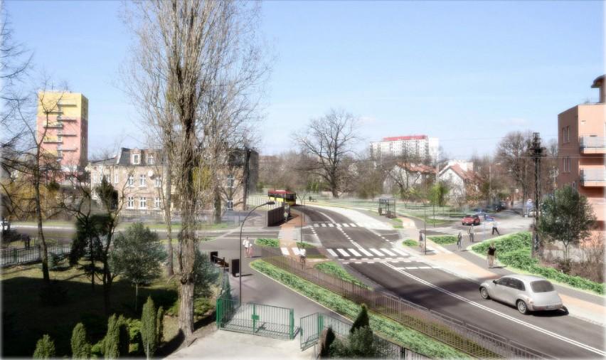 Tak ma wyglądać nowa ulica na Psim Polu